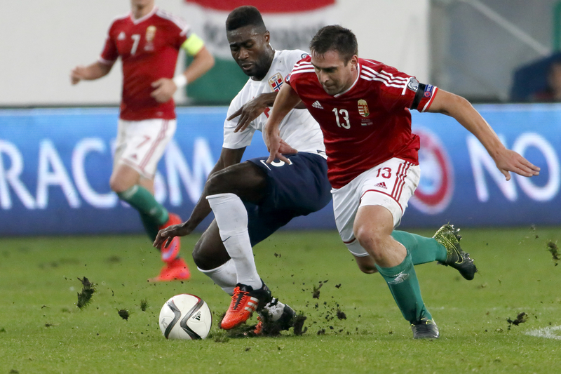 Norge Ungarn fotball